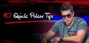 Top 10 Poker Tips - Tips and Tricks to Help You Play Better